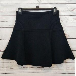 Diane Von Furstenberg Black Skirt